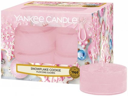 yankee candle snowflakes cookie cajovka