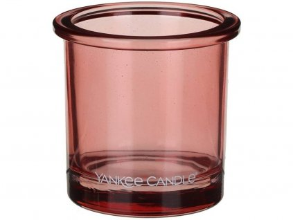 yankee candle pop tea light svicen coral