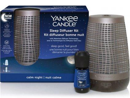 yankee candle elektricky difuzer pro klidny spanek bronzovy