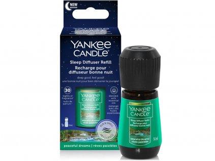 yankee candle napln do elektrickeho difuzeru pro klidny spanek peaceful dreams