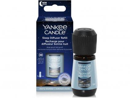 yankee candle napln do elektrickeho difuzeru pro klidny spanek starry slumber