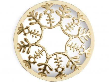yankee candle prstenec illuma lid snowflake frost