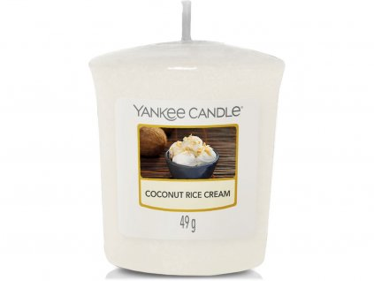 yankee candle coconut rice cream votivni