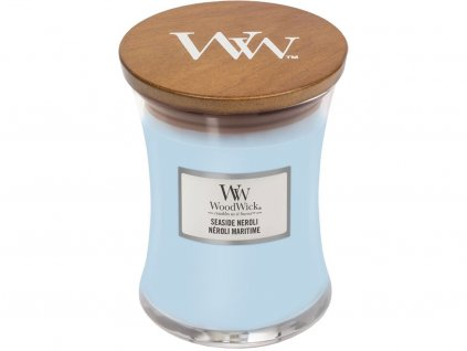 woodwick seaside neroli stredni