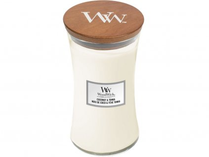 woodwick coconut tonka velka