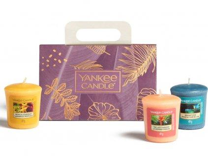 yankee candle sada the last paradise 3 votivni svicky 1