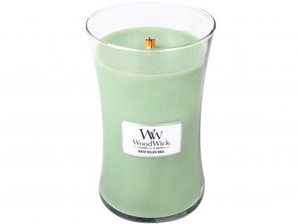 woodwick white willow moss velka