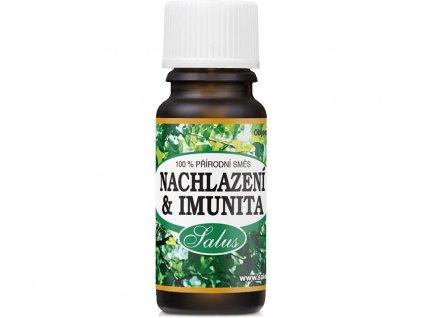 saloos nachlazeni imunita esencialni olej
