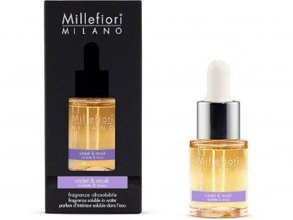 millefiori milano violet musk olej