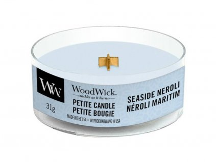 woodwick seaside neroli petite
