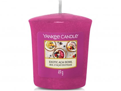 yankee candle exotic acai bowl votivka