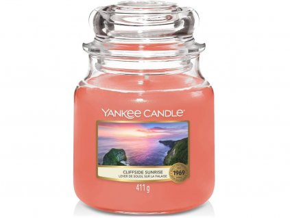 yankee candle cliffside sunrise stredni