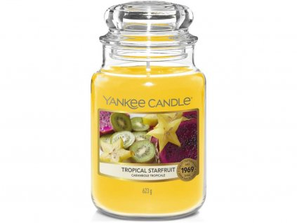 yankee candle tropical starfruit velka