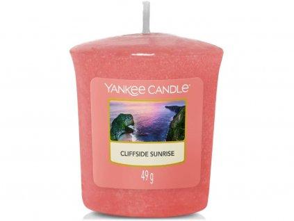 yankee candle cliffside sunrise votivka