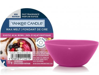 yankee candle exotic acai bowl vosk