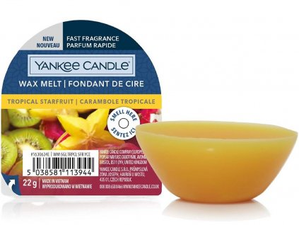 yankee candle tropical starfruit vosk