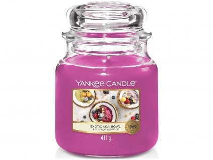 yankee candle exotic acai bowl stredni