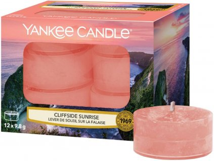yankee candle cliffside sunrise cajovka