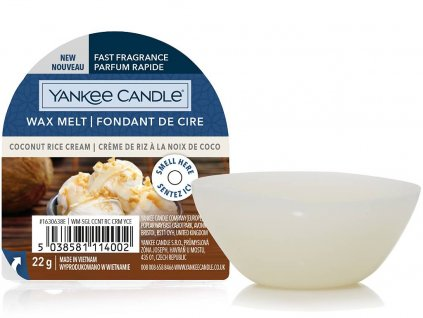 yankee candle coconut rice cream vosk
