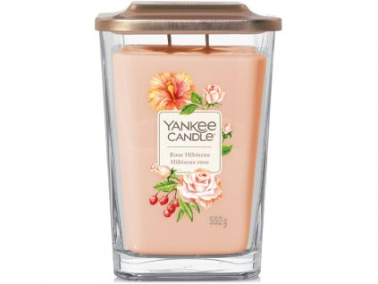 yankee candle elevation rose hibiscus vicko velka