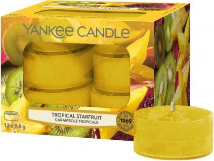 yankee candle tropical starfruit cajovka