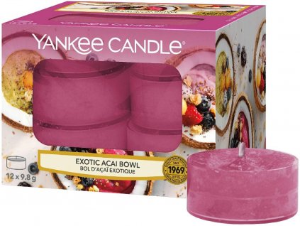 yankee candle exotic acai bowl cajovka