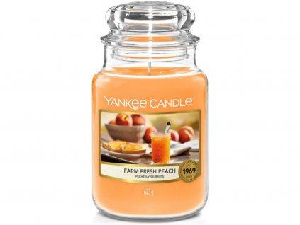 yankee candle fresh farm peach velka