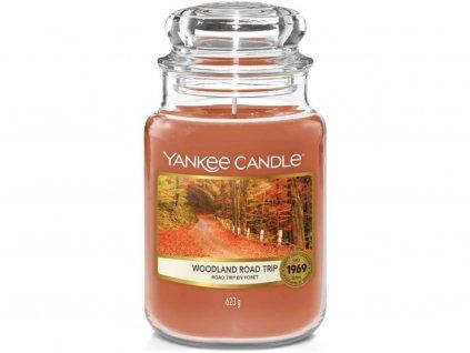 yankee candle woodland road trip velka