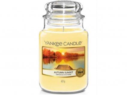yankee candle autumn sunset velka
