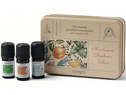 nasoterapia esencialni oleje mandarinka bazalka salvej