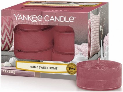 yankee candle home sweet home cajovky