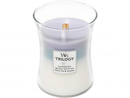 woodwick trilogy calming retreat stredni