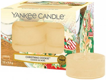 6086 yankee candle cajove svicky christmas cookie 12 ks