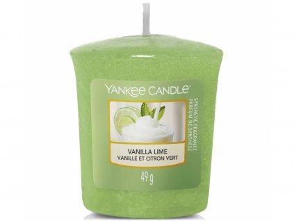 yankee candle vanilla lime votivni