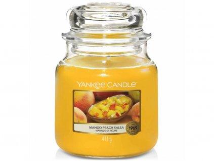 yankee candle mango peach salsa stredni