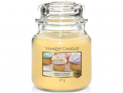 yankee candle vanilla cupcake stredni