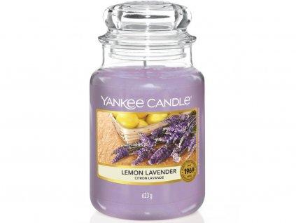yankee candle lemon lavender velka