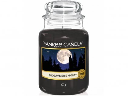 yankee candle midsummers night velka