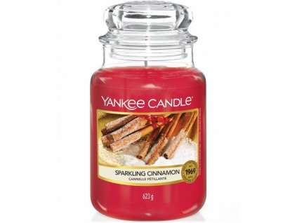 yankee candle sparkling cinnamon velka