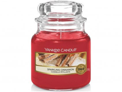 6416 yankee candle vonna svicka sparkling cinnamon stredni