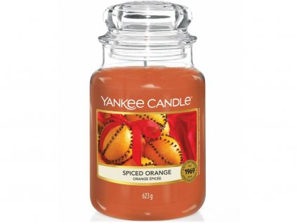 yankee candle spiced orange velka