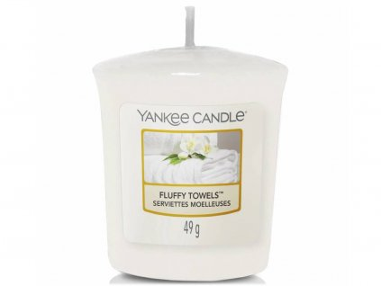 yankee candle fluffy towels votivni