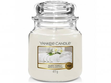 yankee candle fluffy towels stredni