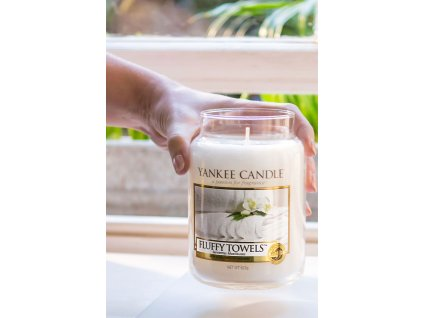 6551 yankee candle vonna svicka fluffy towels stredni