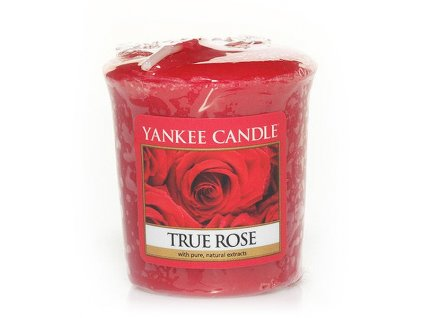 6593 yankee candle votivni svicka true rose