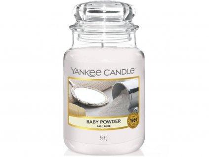 6656 yankee candle vonna svicka baby powder velka