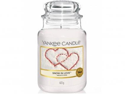 6671 yankee candle vonna svicka snow in love velka