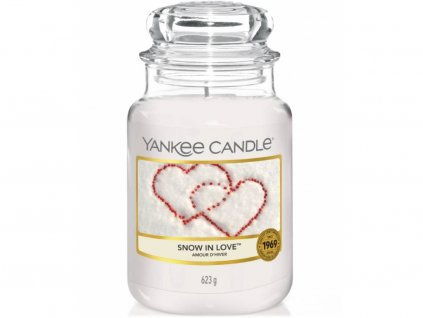 yankee candle snow in love velka