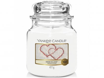 6674 yankee candle vonna svicka snow in love stredni