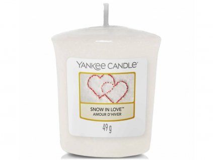 6680 yankee candle votivni svicka snow in love
